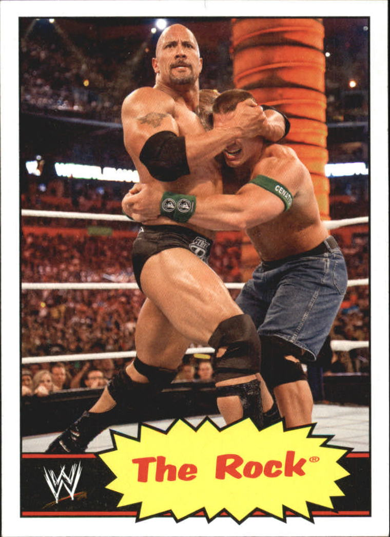 2012 Topps Heritage WWE #33 The Rock
