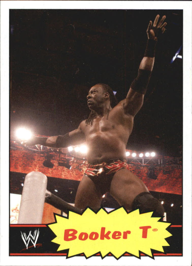 2012 Topps Heritage WWE #45 Booker T