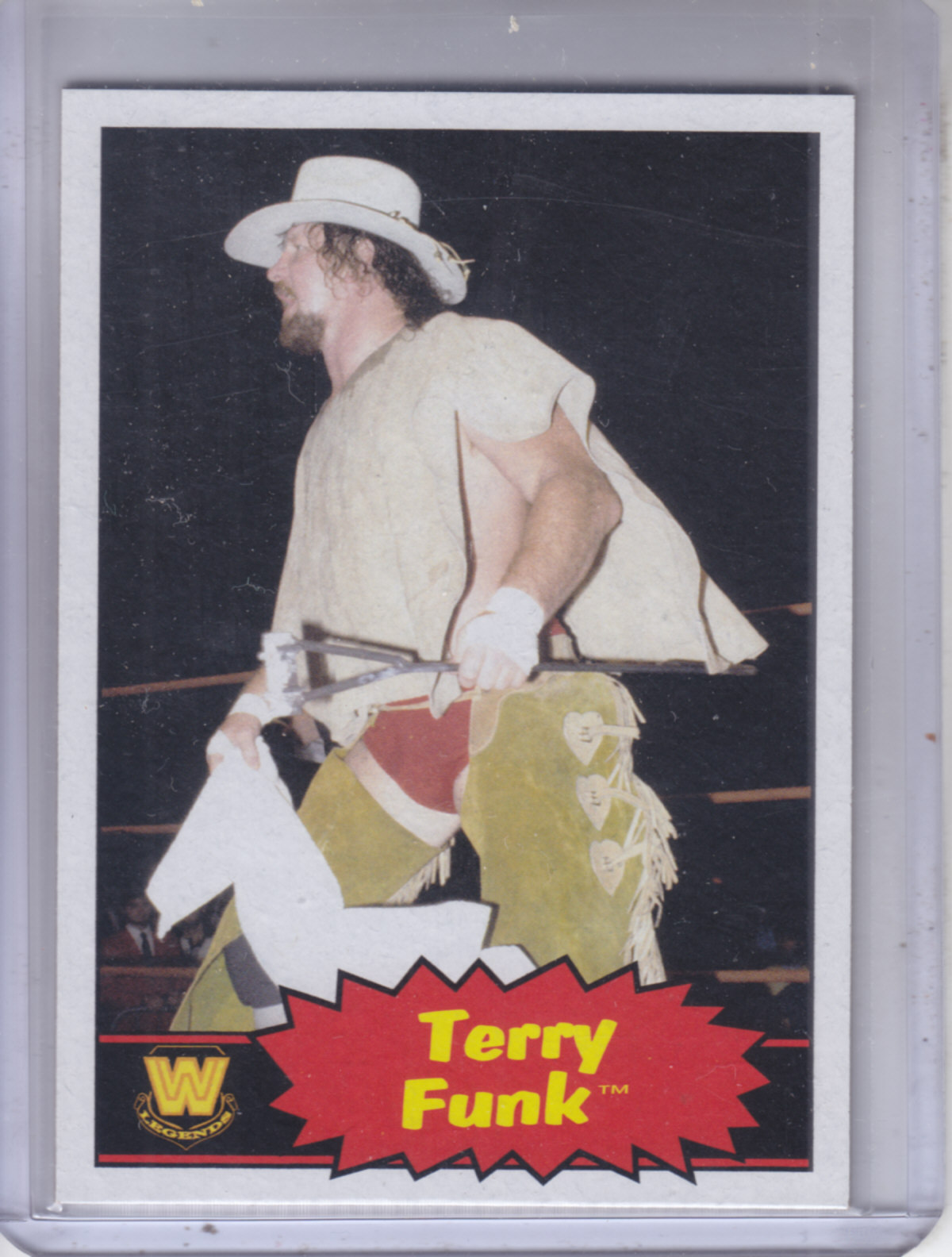 2012 Topps Heritage WWE #105 Terry Funk