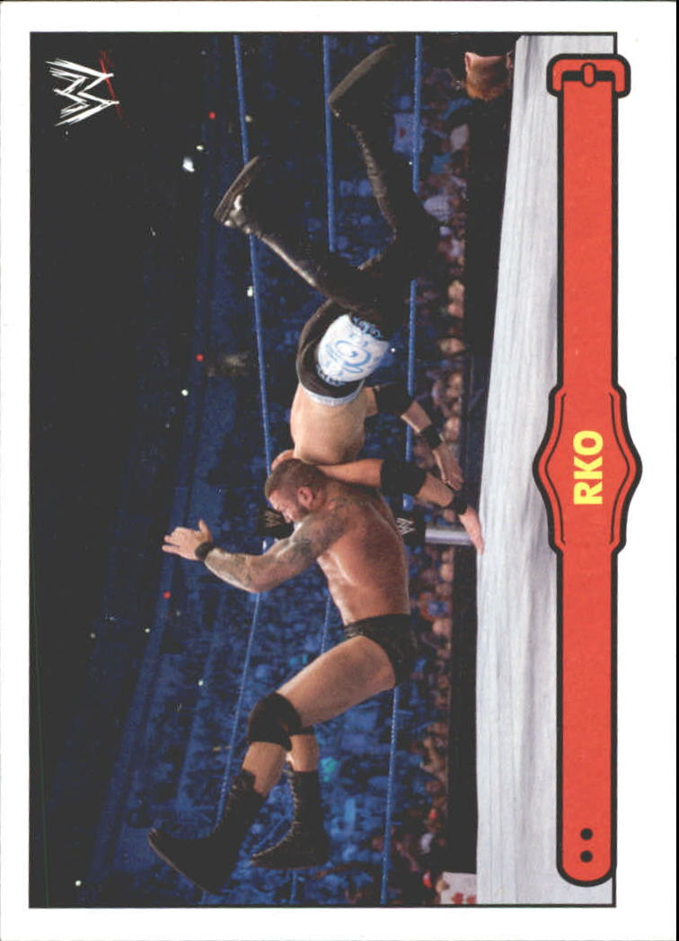 2012 Topps Heritage WWE Ringside Action #40 Randy Orton/ RKO
