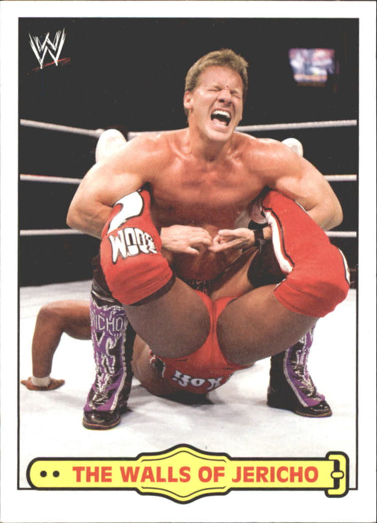 2012 Topps Heritage WWE Ringside Action #51 Chris Jericho/ The Walls of Jericho