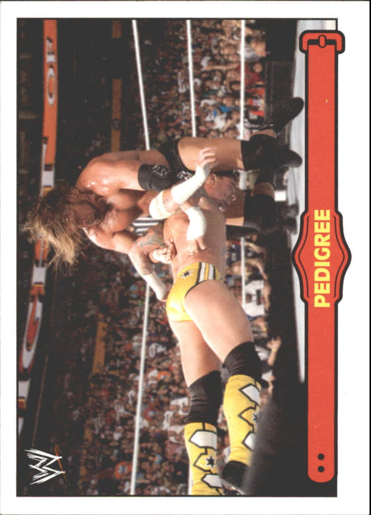 2012 Topps Heritage WWE Ringside Action #54 Triple H/ Pedigree