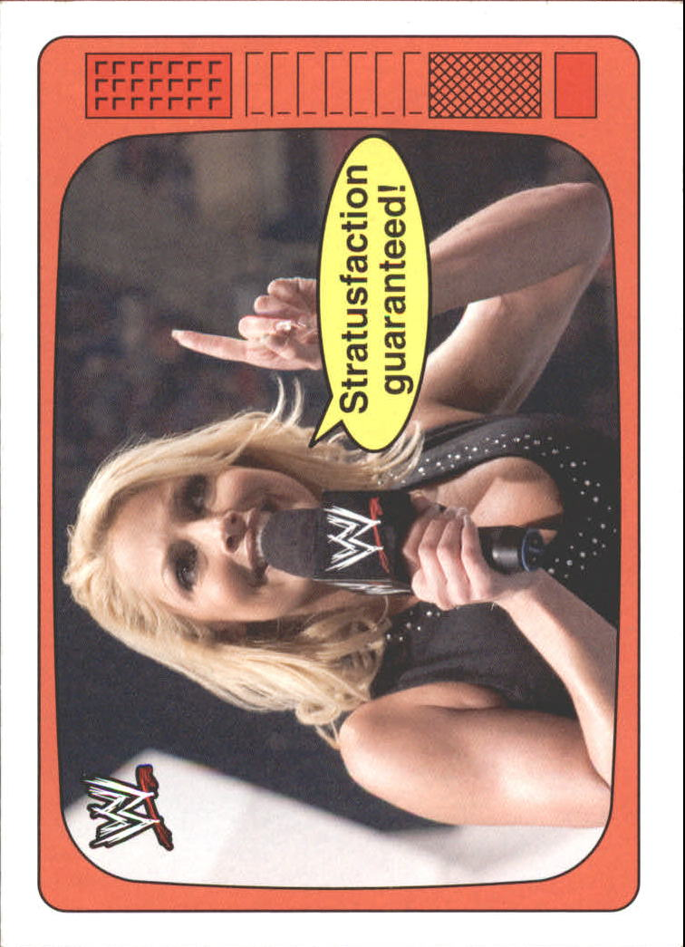 2012 Topps Heritage WWE The Superstars Speak #10 Trish Stratus