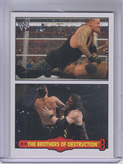2012 Topps Heritage WWE Fabled Tag Teams #8 The Brothers of Destruction