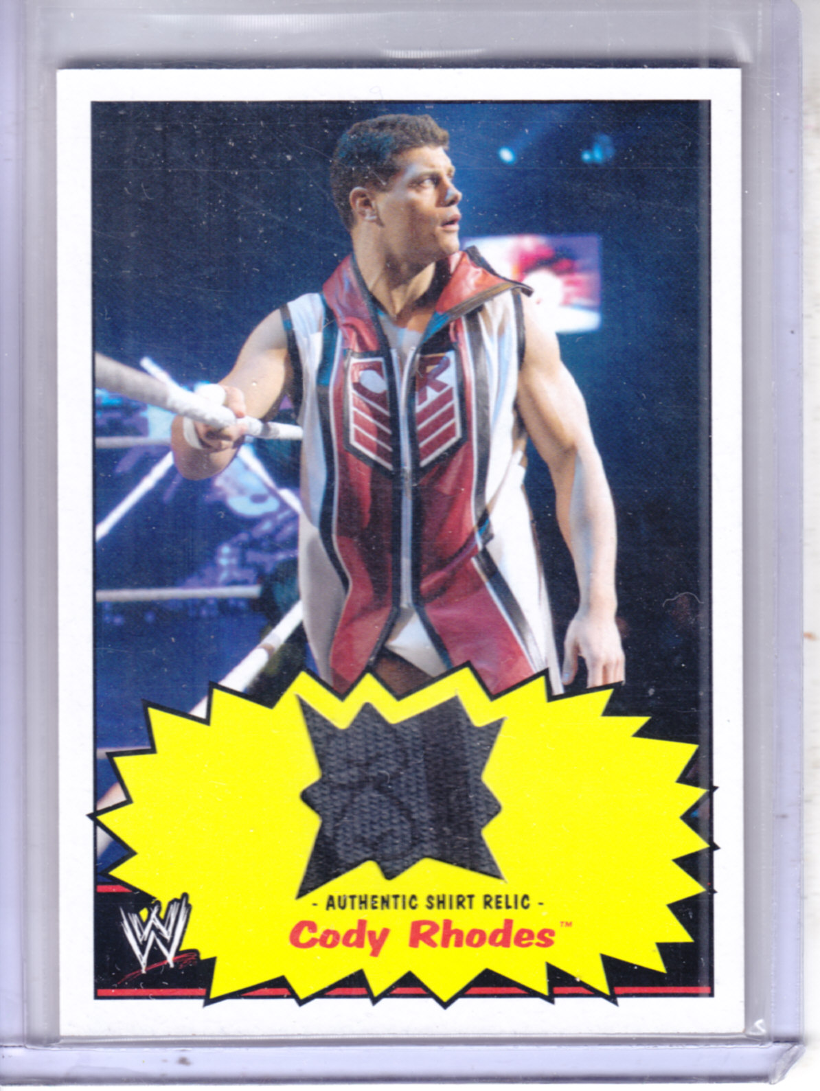 2012 Topps Heritage WWE Shirt Relics #4 Cody Rhodes