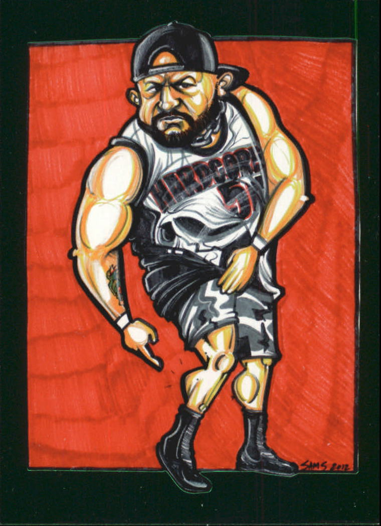 2013 Tristar TNA Impact Live #102 Bully Ray Caricature SP