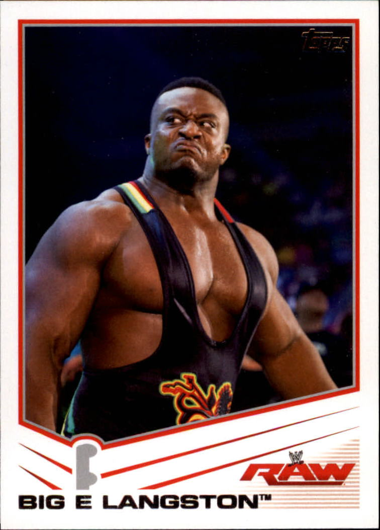 2013 Topps WWE #3 Big E Langston