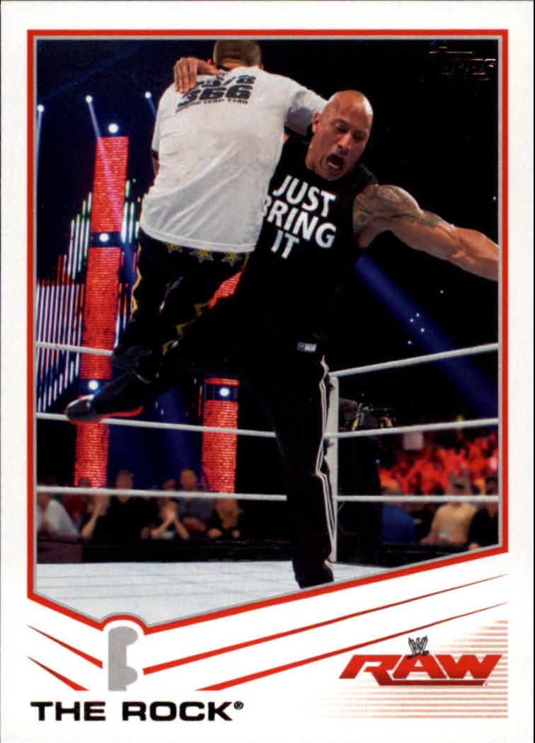 2013 Topps WWE #32 The Rock