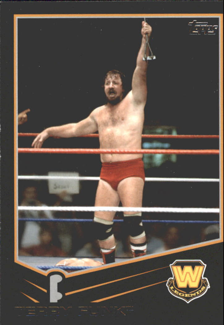 2013 Topps WWE Black #106 Terry Funk