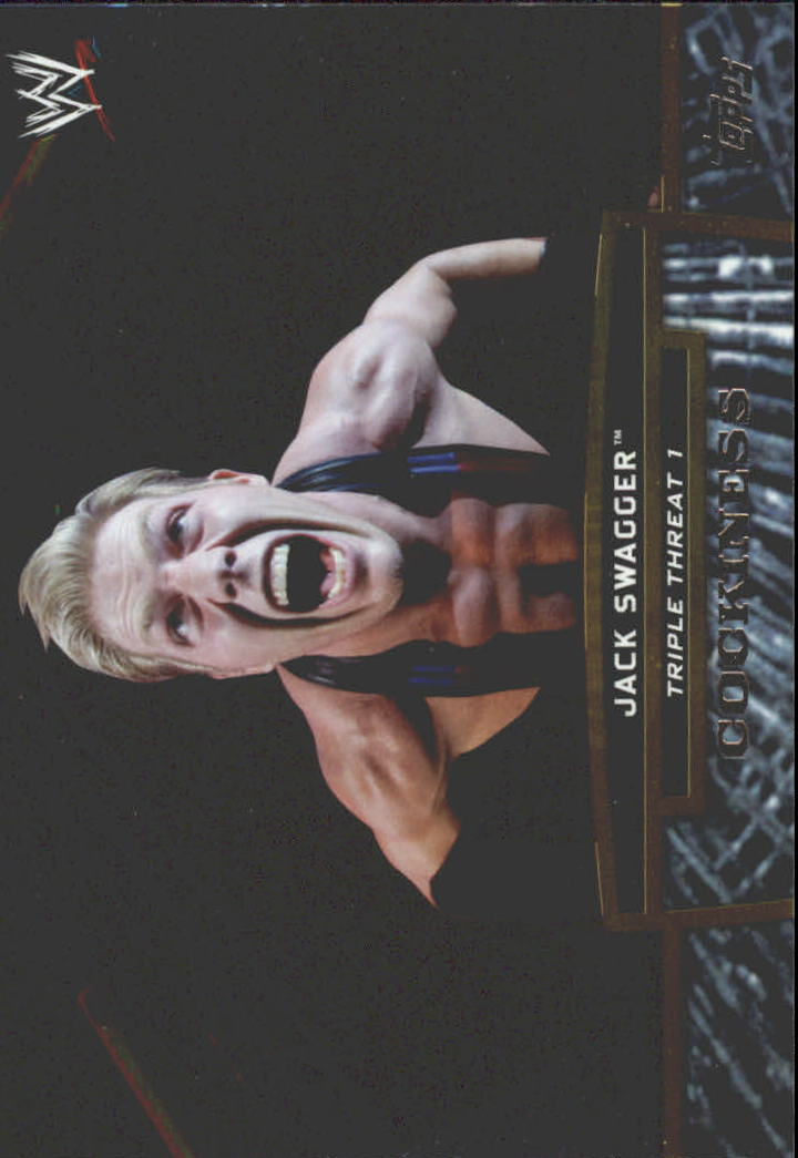 2013 Topps WWE Triple Threat Tier One #TT3 Jack Swagger