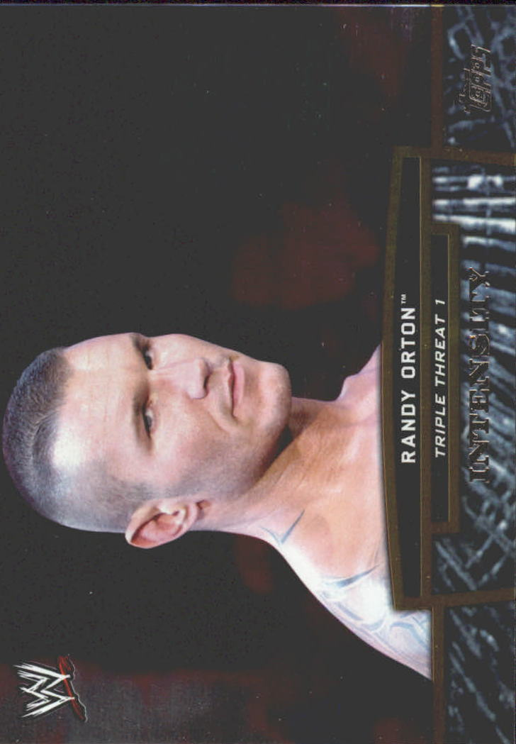 2013 Topps WWE Triple Threat Tier One #TT12 Randy Orton
