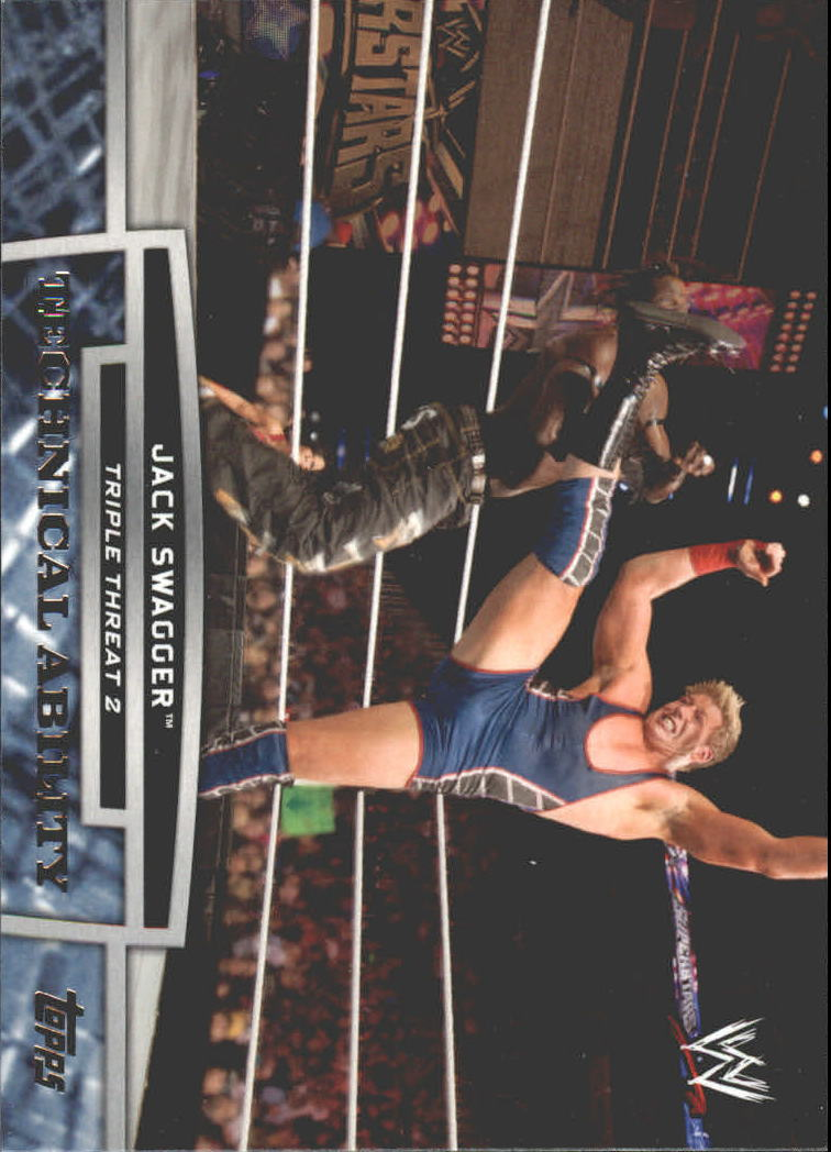 2013 Topps WWE Triple Threat Tier Two #TT3 Jack Swagger