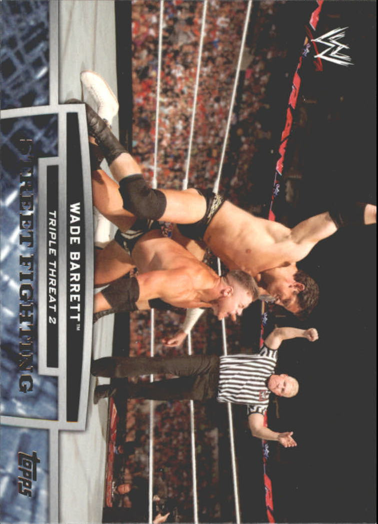 2013 Topps WWE Triple Threat Tier Two #TT6 Wade Barrett