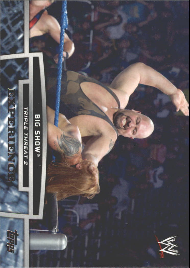 2013 Topps WWE Triple Threat Tier Two #TT16 Big Show