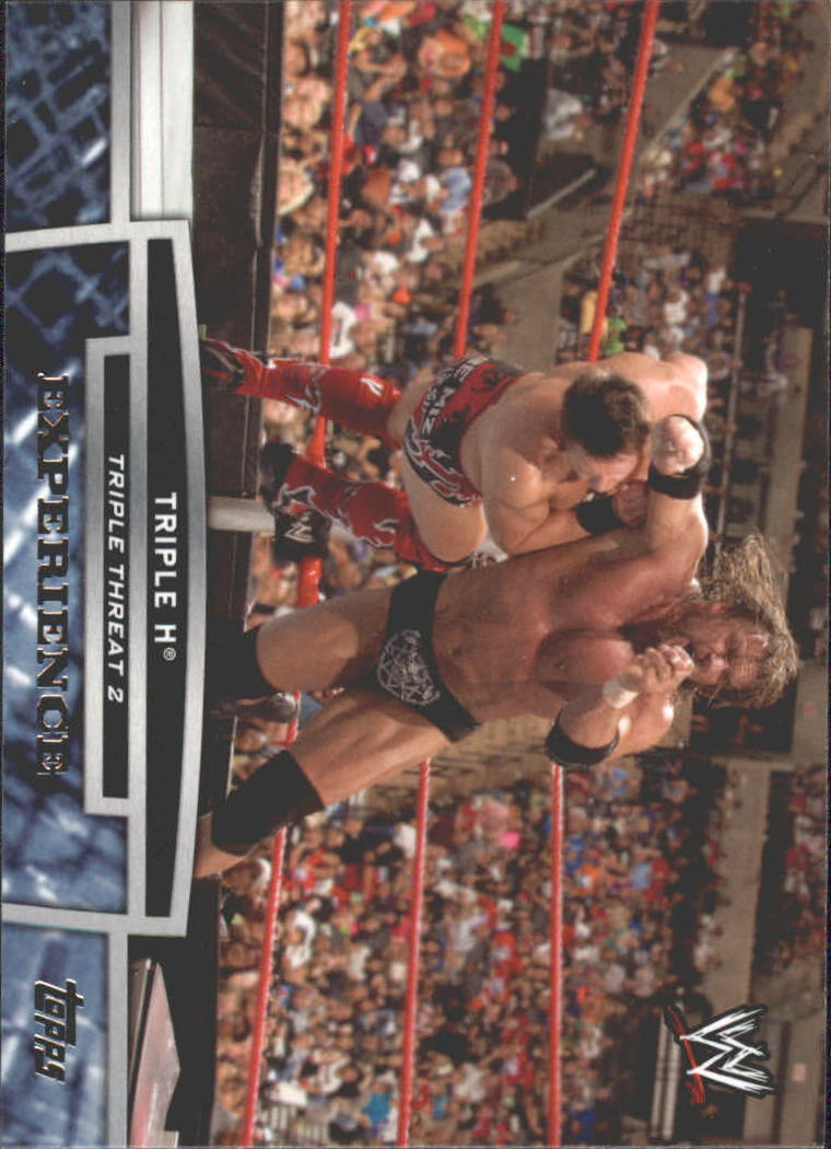 2013 Topps WWE Triple Threat Tier Two #TT19 Triple H