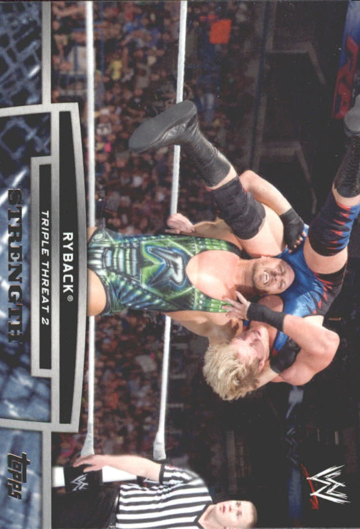 2013 Topps WWE Triple Threat Tier Two #TT20 Ryback