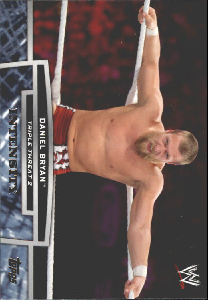 2013 Topps WWE Triple Threat Tier Two #TT22 Daniel Bryan