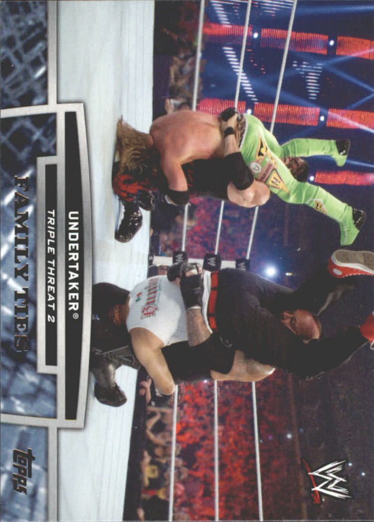 2013 Topps WWE Triple Threat Tier Two #TT28 Undertaker