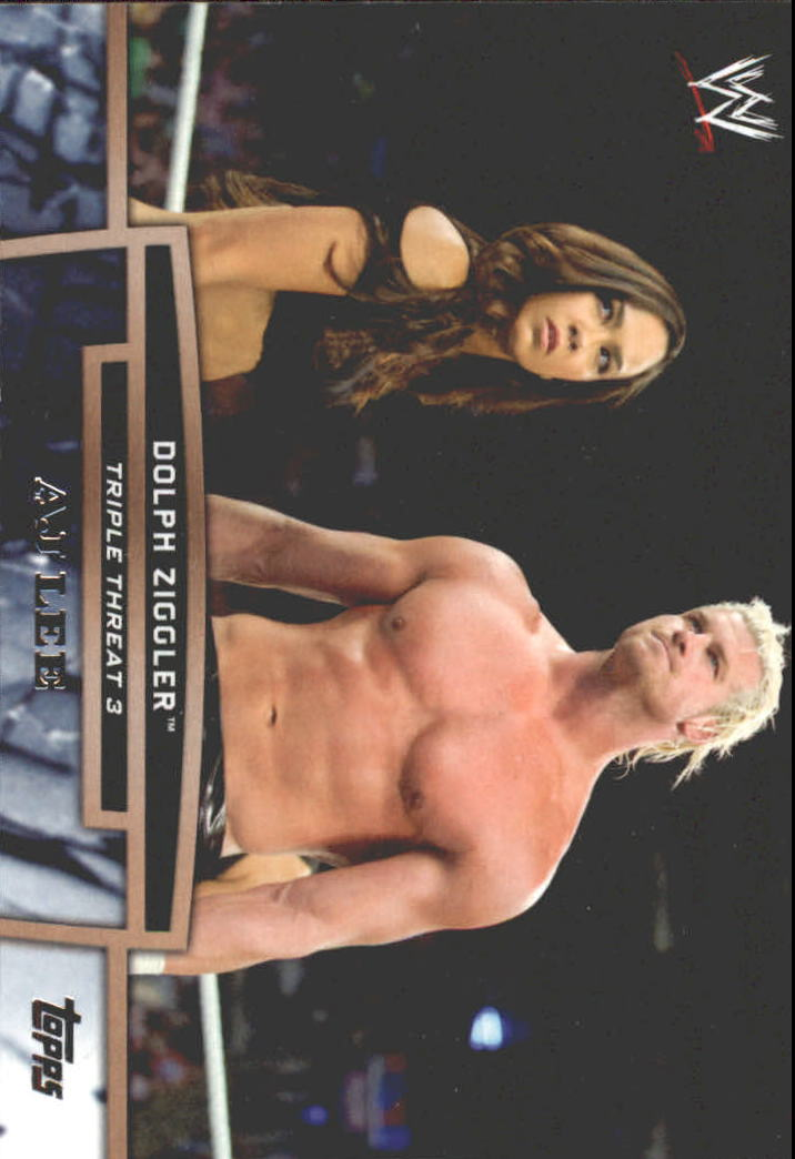 2013 Topps WWE Triple Threat Tier Three #TT1 Dolph Ziggler