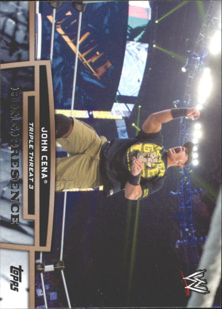 2013 Topps WWE Triple Threat Tier Three #TT2 John Cena