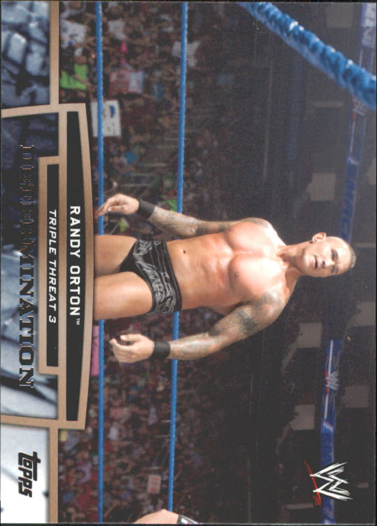 2013 Topps WWE Triple Threat Tier Three #TT12 Randy Orton
