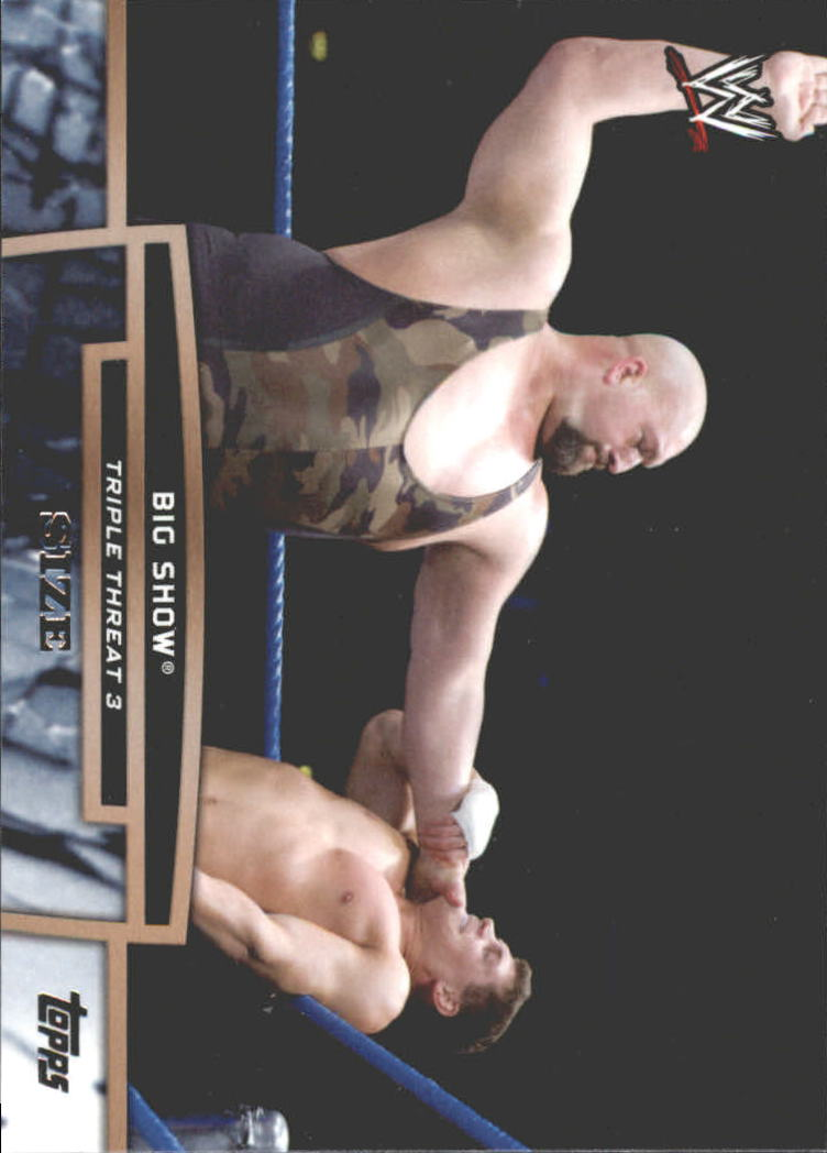 2013 Topps WWE Triple Threat Tier Three #TT16 Big Show