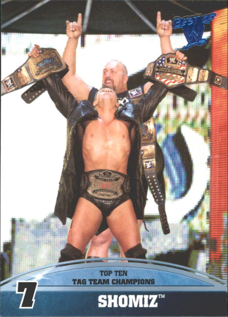 2013 Topps Best of WWE Top 10 WWE Tag Team Champions #7 ShoMiz