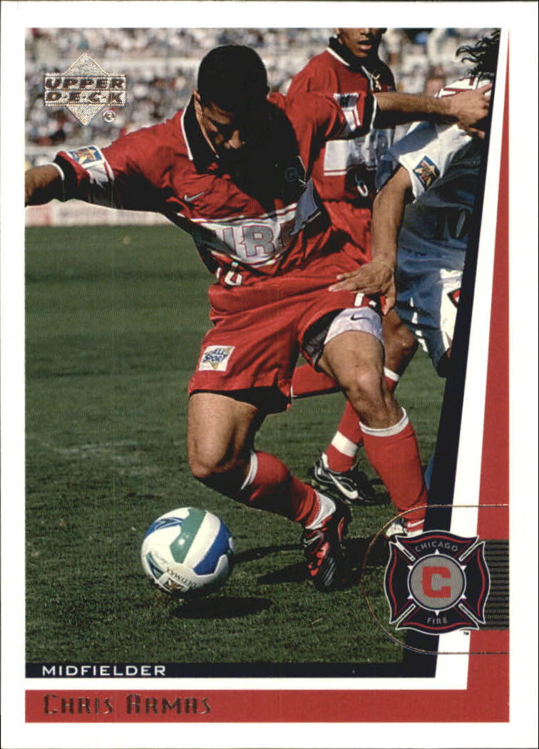 1999 Upper Deck MLS #23 Chris Armas RC