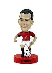 2003 Upper Deck Manchester United Mini Playmakers Bobble Head Dolls #2 Ryan Giggs