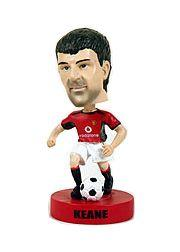 2003 Upper Deck Manchester United Mini Playmakers Bobble Head Dolls #4 Roy Keane