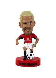2003 Upper Deck Manchester United Mini Playmakers Bobble Head Dolls #5 Rio Ferdinand