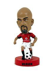 2003 Upper Deck Manchester United Mini Playmakers Bobble Head Dolls #7 Juan Sebastian Veron