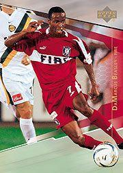 2004 Upper Deck MLS #3 DaMarcus Beasley RC