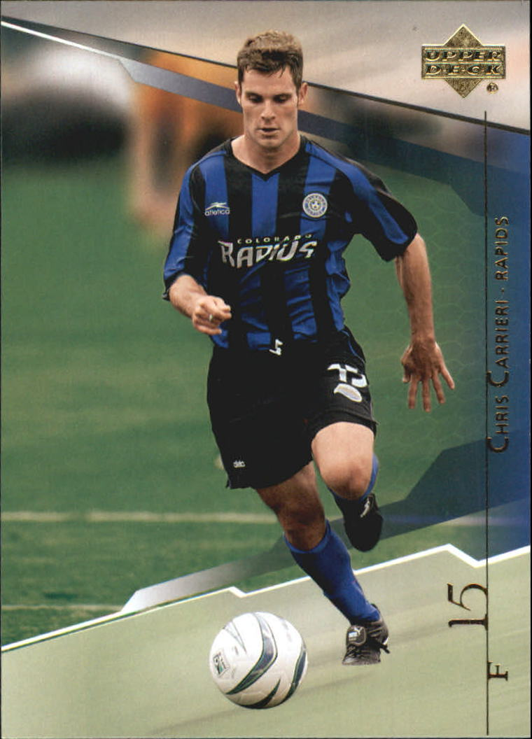 2004 Upper Deck MLS #12 Chris Carrieri RC