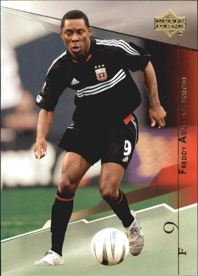 2004 Upper Deck MLS #37 Freddy Adu RC