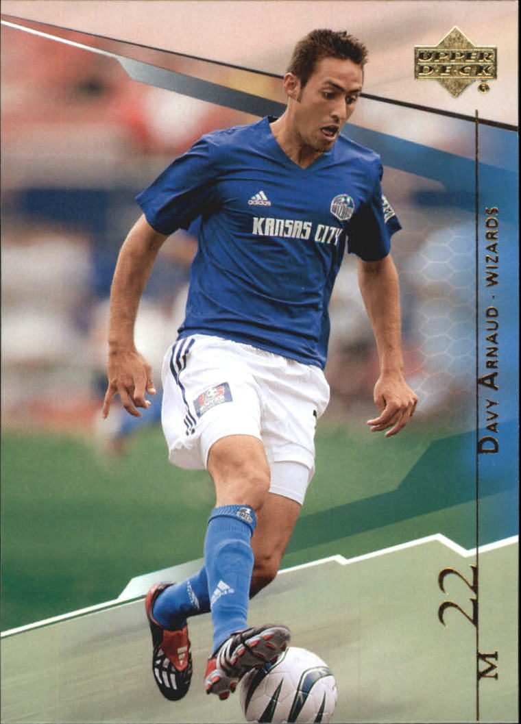 2004 Upper Deck MLS #52 Davy Arnaud RC