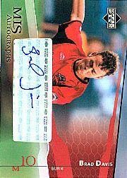2004 Upper Deck MLS Autographs #BDA Brad Davis