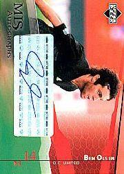 2004 Upper Deck MLS Autographs #BOA Ben Olsen