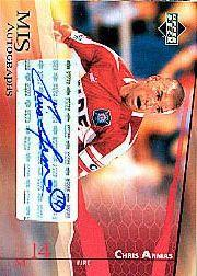 2004 Upper Deck MLS Autographs #CAA Chris Armas
