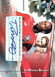 2004 Upper Deck MLS Autographs #DBA DaMarcus Beasley