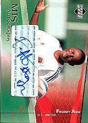 2004 Upper Deck MLS Autographs #FAA Freddy Adu
