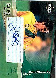 2004 Upper Deck MLS Autographs #HMA Hong Myung-Bo