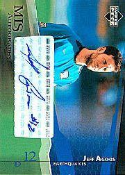 2004 Upper Deck MLS Autographs #JAA Jeff Agoos