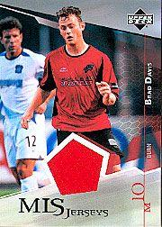 2004 Upper Deck MLS Jerseys #BDJ Brad Davis
