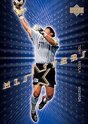 2004 Upper Deck MLS Stars #ST16 Tony Meola