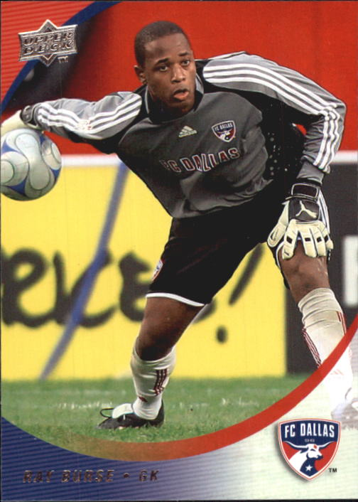 2008 Upper Deck MLS #32 Ray Burse RC
