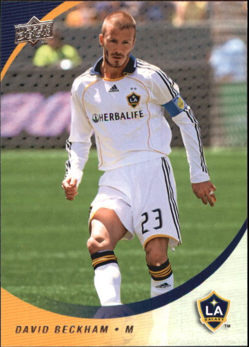 2008 Upper Deck MLS #61 David Beckham