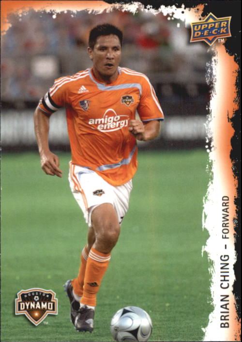 2009 Upper Deck MLS #29 Brian Ching