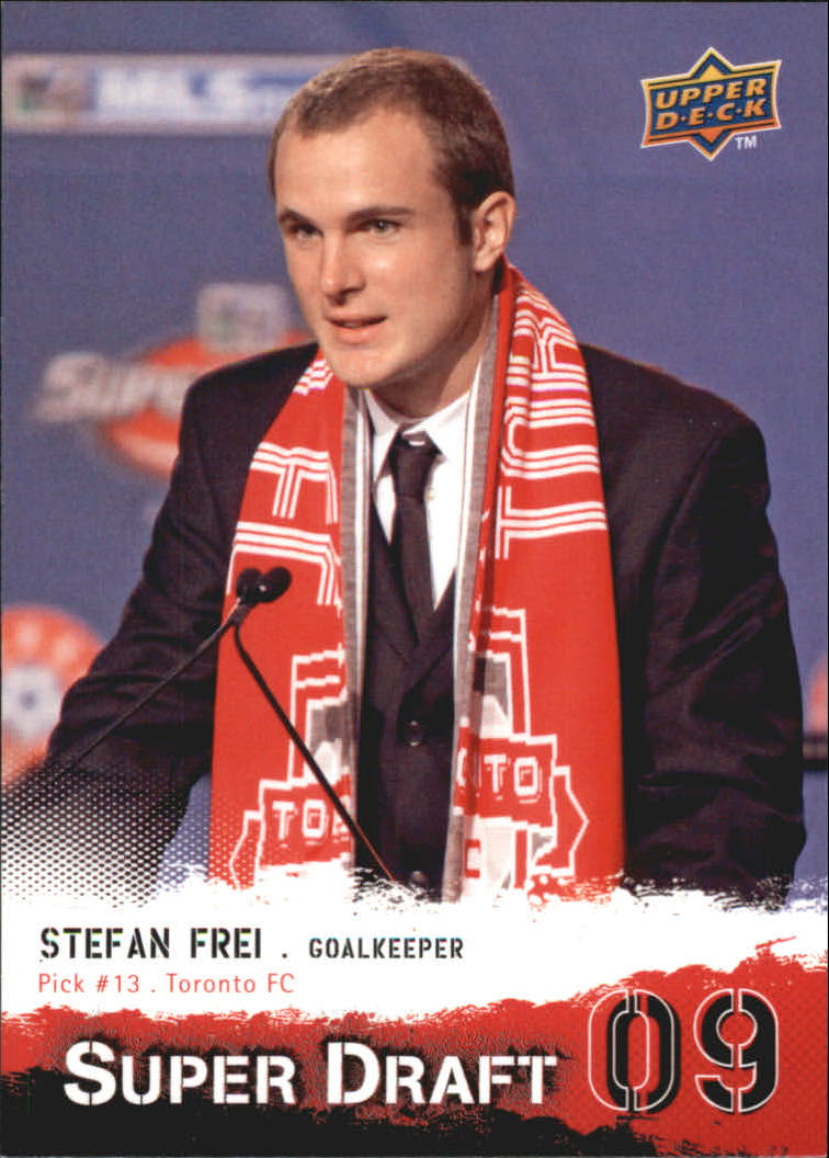 2009 Upper Deck MLS Super Draft #SD13 Stefan Frei