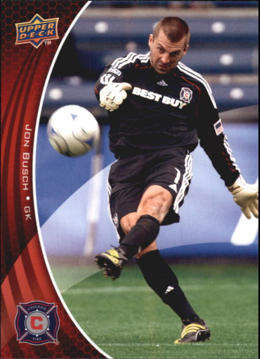 2010 Upper Deck MLS #3 Jon Busch